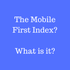 Mobile First Index (1)