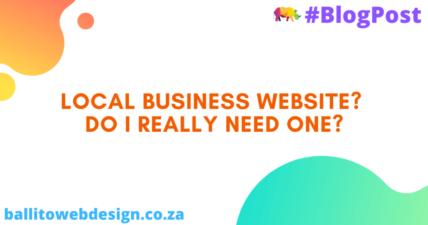Ballito Web Design - Local Business Website