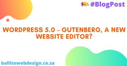 Ballito Web Design - Gutenburg