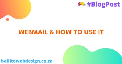 Ballito Web Design - How to use Webmail