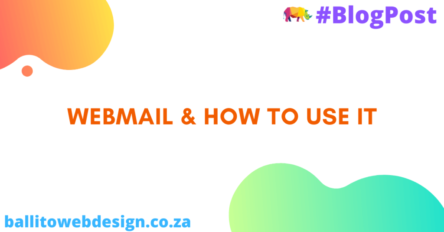 Ballito Web Design - How to use Webmail