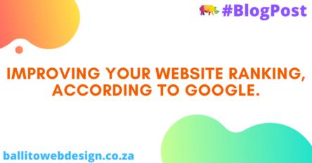 Ballito Web Design - Google Ranking