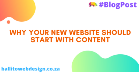 Ballito Web Design - Content First